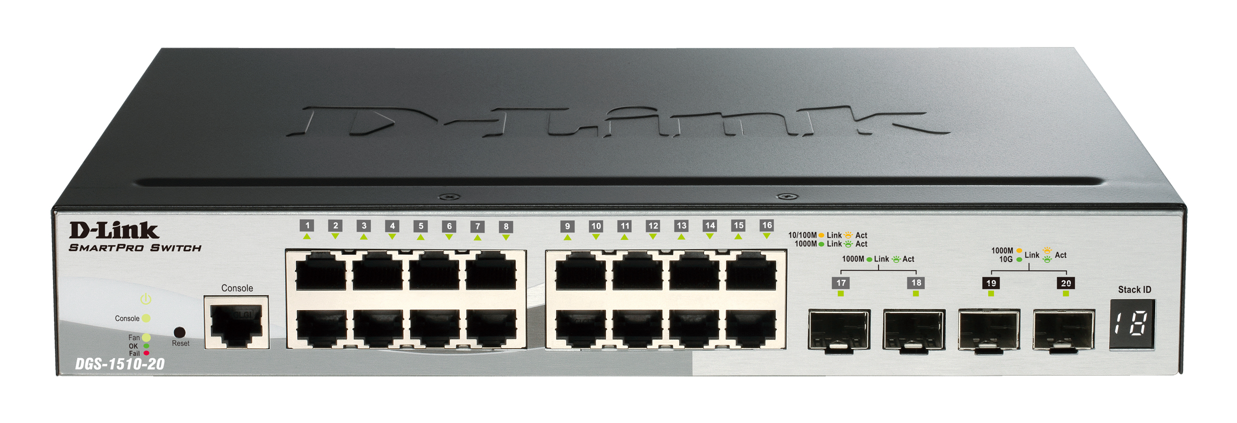 D Link 12 Port Switch