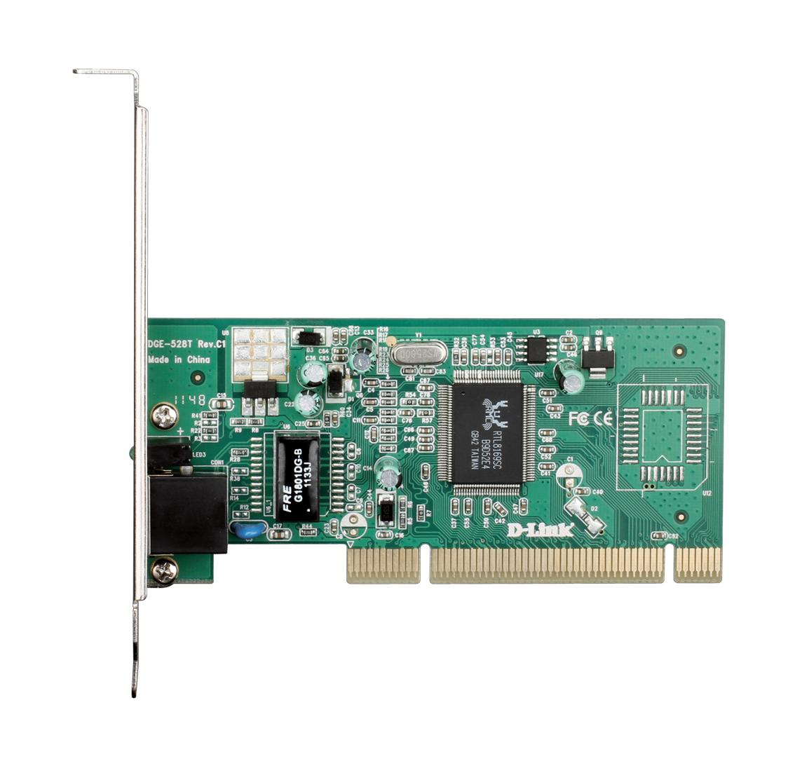 10/100/1000Mbps Copper Gigabit PCI Card DGE-528T