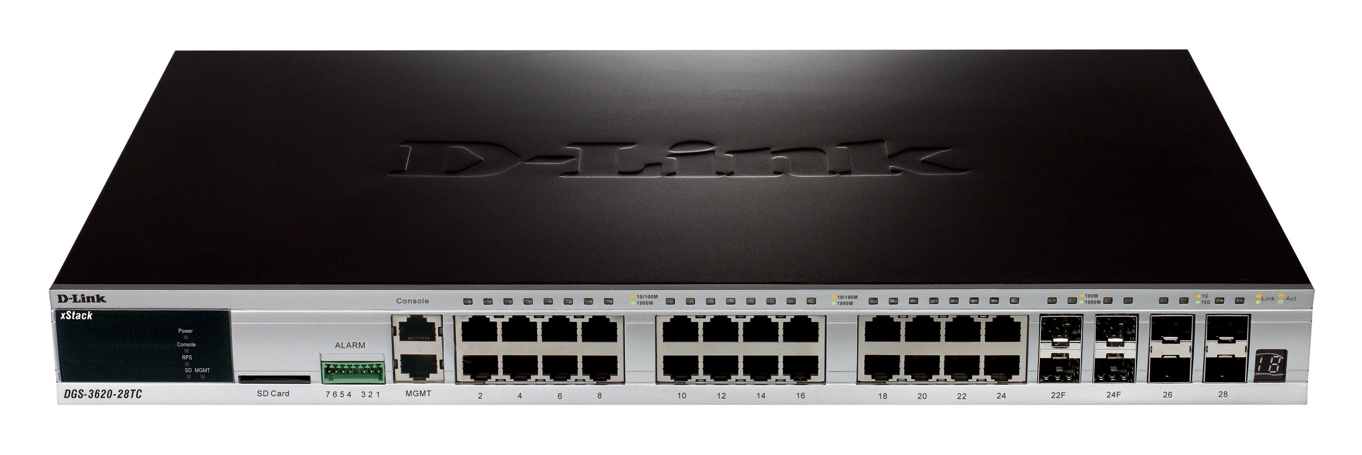 D-Link DGS-3620-28PC-EI L3 Gigabit Switch Windows 8 Driver Download