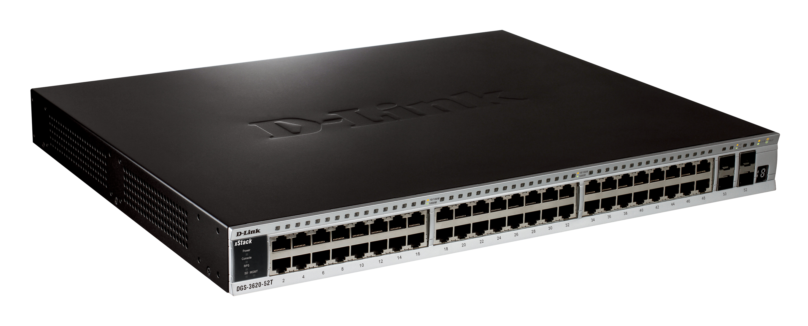 D-Link DGS-3620-52P-SI L3 Gigabit Switch Drivers for Windows Download